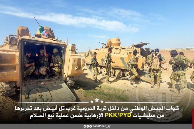 Thổ Nhĩ Kỳ tung cú đấm knock-out - Đòn đánh kết liễu có thể khiến SDF sụp đổ ở Tel Abyad - Ảnh 3.