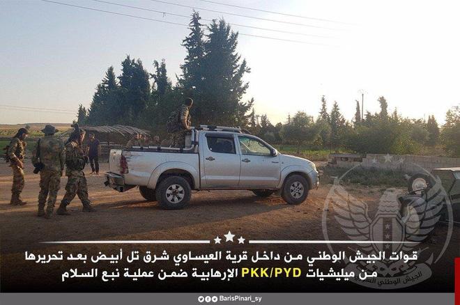 Thổ Nhĩ Kỳ tung cú đấm knock-out - Đòn đánh kết liễu có thể khiến SDF sụp đổ ở Tel Abyad - Ảnh 4.