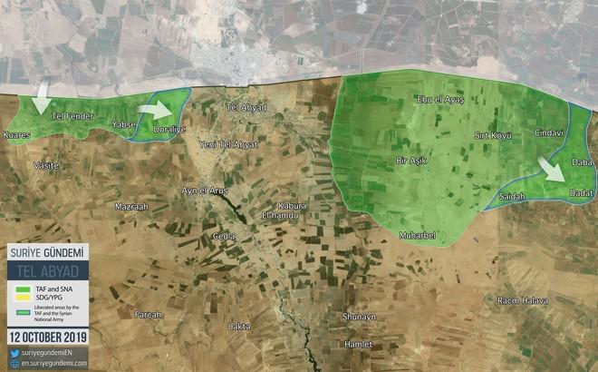 Thổ Nhĩ Kỳ tung cú đấm knock-out - Đòn đánh kết liễu có thể khiến SDF sụp đổ ở Tel Abyad - Ảnh 1.