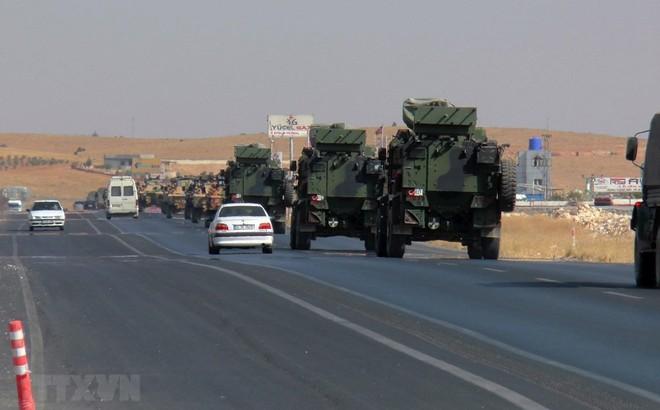 Quân đội Thổ Nhĩ Kỳ tuyên bố đã chiếm thị trấn biên giới của Syria