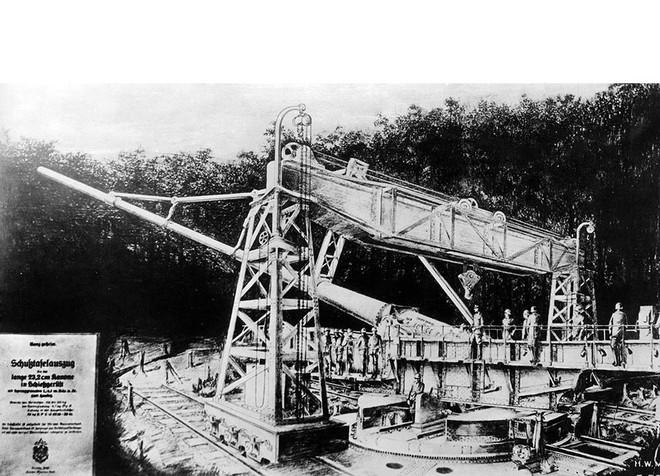 Khám phá siêu pháo cực 'dị' của Đức nặng tới 256 tấn, tầm bắn 130km - ảnh 13