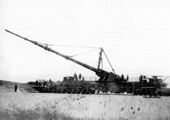Khám phá siêu pháo cực 'dị' của Đức nặng tới 256 tấn, tầm bắn 130km - ảnh 14