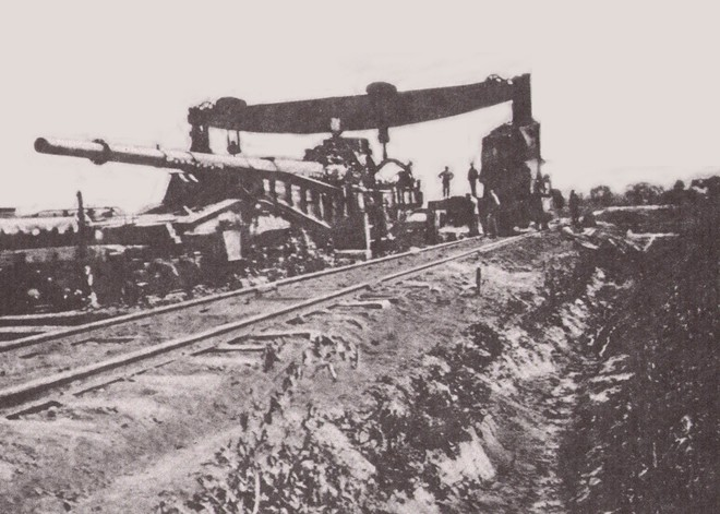 Khám phá siêu pháo cực 'dị' của Đức nặng tới 256 tấn, tầm bắn 130km - ảnh 15
