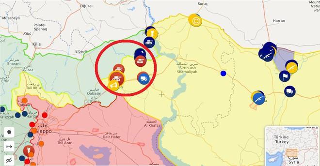 CẬP NHẬT: Biến lớn, chiến trường thay đổi chóng mặt - QĐ Syria thần tốc chiếm nhiều địa bàn chiến lược - Ảnh 36.