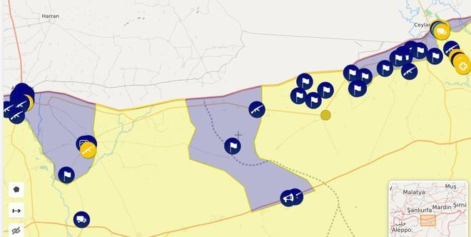 CẬP NHẬT: Biến lớn, chiến trường thay đổi chóng mặt - QĐ Syria thần tốc chiếm nhiều địa bàn chiến lược - Ảnh 30.