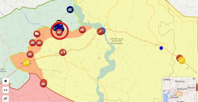CẬP NHẬT: Biến lớn, chiến trường thay đổi chóng mặt - QĐ Syria thần tốc chiếm nhiều địa bàn chiến lược - Ảnh 4.