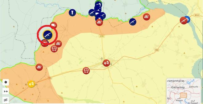 CẬP NHẬT: Biến lớn, chiến trường thay đổi chóng mặt - QĐ Syria thần tốc chiếm nhiều địa bàn chiến lược - Ảnh 2.