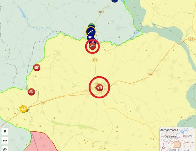 CẬP NHẬT: Biến lớn, chiến trường thay đổi chóng mặt - QĐ Syria thần tốc chiếm nhiều địa bàn chiến lược - Ảnh 17.