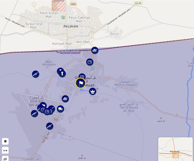 CẬP NHẬT: Biến lớn, chiến trường thay đổi chóng mặt - QĐ Syria thần tốc chiếm nhiều địa bàn chiến lược - Ảnh 13.