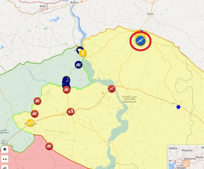 CẬP NHẬT: Biến lớn, chiến trường thay đổi chóng mặt - QĐ Syria thần tốc chiếm nhiều địa bàn chiến lược - Ảnh 11.