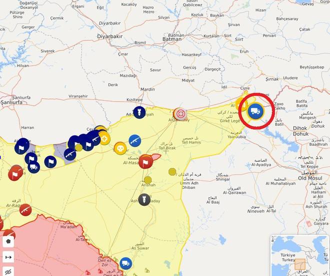 CẬP NHẬT: Biến lớn, chiến trường thay đổi chóng mặt - QĐ Syria thần tốc chiếm nhiều địa bàn chiến lược - Ảnh 8.