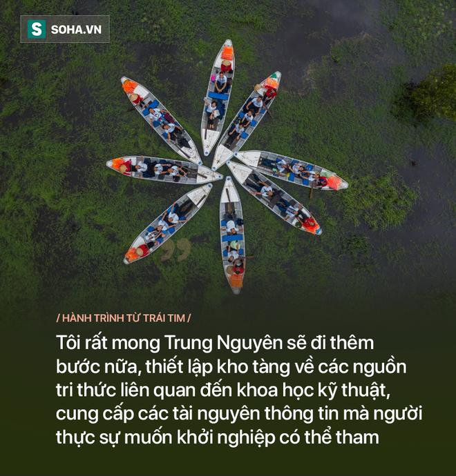 GS Võ Tòng Xuân: Tôi rất mong Đặng Lê Nguyên Vũ, Trung Nguyên sẽ đi thêm bước nữa - Ảnh 13.