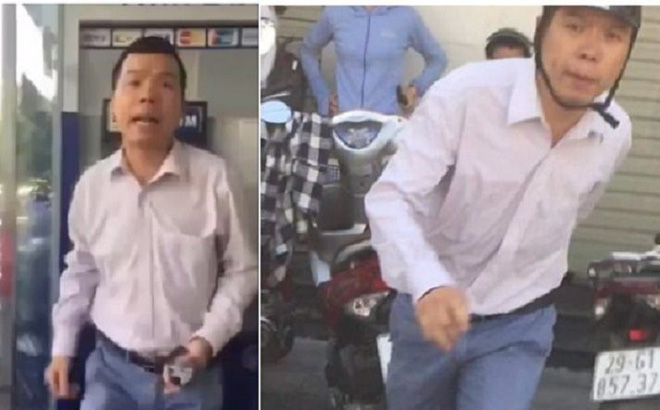 Nạn nhân bị người đàn ông chửi, đánh ở cây ATM rất bức xúc và sẽ xem xét lại việc hòa giải
