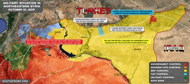 CẬP NHẬT: Biến lớn, chiến trường thay đổi chóng mặt - QĐ Syria thần tốc chiếm nhiều địa bàn chiến lược - Ảnh 31.