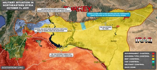 CẬP NHẬT: Biến lớn, chiến trường thay đổi chóng mặt - QĐ Syria thần tốc chiếm nhiều địa bàn chiến lược - Ảnh 9.