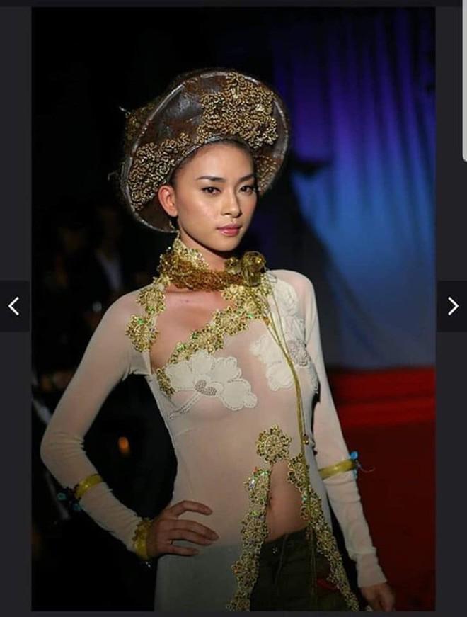 Ngô Thanh Vân lên tiếng về ảnh mặc áo dài thả rông vòng 1 cách đây 15 năm - Ảnh 1.