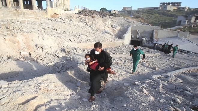 Rộ tin về chiến dịch giội bom 12 giờ, 4 bệnh viện gây sốc của Không quân Nga tại Syria: BQP Nga nói gì? - Ảnh 1.
