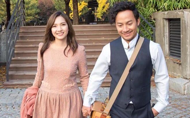 """Trước ngày đẻ, vợ kém 10 tuổi của rapper Tiến Đạt """"phát hiện sai lầm"""" khi ngồi lọc ảnh cưới"""