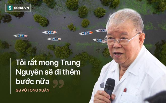 GS Võ Tòng Xuân: 'Tôi rất mong Đặng Lê Nguyên Vũ, Trung Nguyên sẽ đi thêm bước nữa'