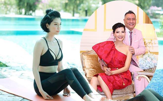 Cựu siêu mẫu Việt từng 20 lần thụ tinh nhân tạo, giục chồng lấy vợ mới giờ ra sao?