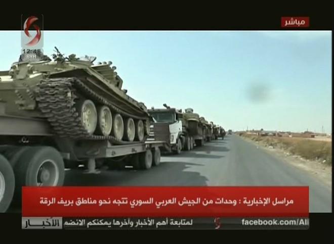 QĐ Syria bị bắt sống xe tăng hiện đại - Chiến sự 1 ngày bằng 4 năm, xoay chuyển chóng mặt - Ảnh 20.