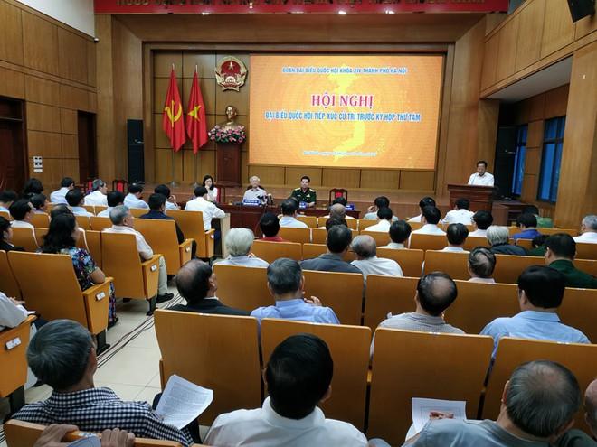 Cử tri Hà Nội rất mừng khi thấy Tổng Bí thư, Chủ tịch nước mạnh khỏe - Ảnh 2.