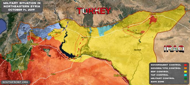 QĐ Syria bị bắt sống xe tăng hiện đại - Chiến sự 1 ngày bằng 4 năm, xoay chuyển chóng mặt - Ảnh 12.