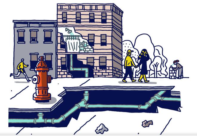 Dân New York nói về hệ thống nước máy của mình: Chúng tôi được uống sâm panh mỗi ngày - Ảnh 2.