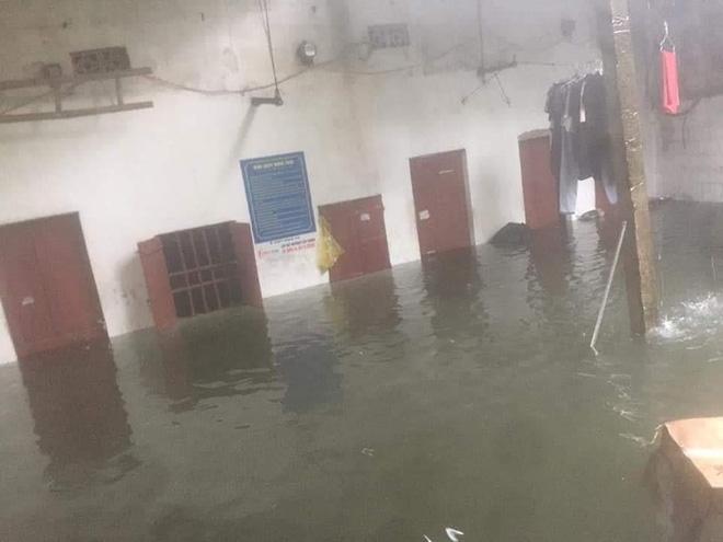 Mưa nhiều ngày ở Nghệ An, nước ngập đến tận giường, đi thuyền trong phố - ảnh 4