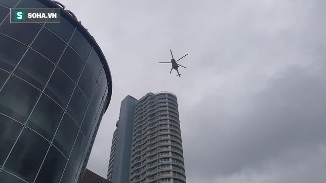 Xe quái thú Rosenbauer Panther trị giá 1 triệu USD, máy bay trực thăng diễn tập chữa cháy ở Đà Nẵng - Ảnh 11.