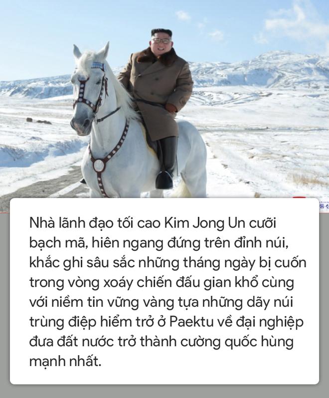 Người Triều Tiên: Khoảnh khắc để lại những dấu chân bất diệt trên Paektu, ngài như trẻ ra 10 tuổi - Ảnh 1.