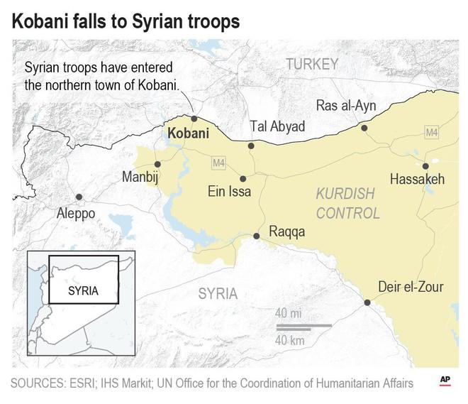 SDF bắn cháy xe tăng Thổ Nhĩ Kỳ, KQ Nga oanh tạc dữ dội khủng bố Syria - Chiến sự vô cùng ác liệt - Ảnh 19.