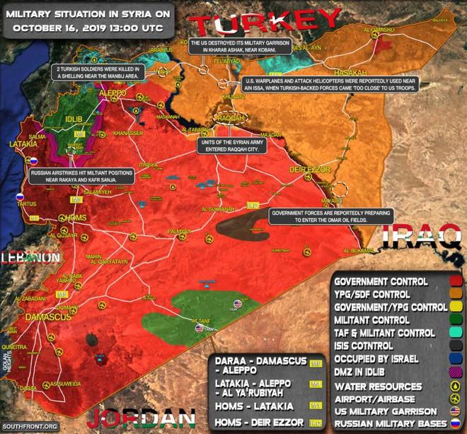 SDF bắn cháy xe tăng Thổ Nhĩ Kỳ, KQ Nga oanh tạc dữ dội khủng bố Syria - Chiến sự vô cùng ác liệt - Ảnh 22.