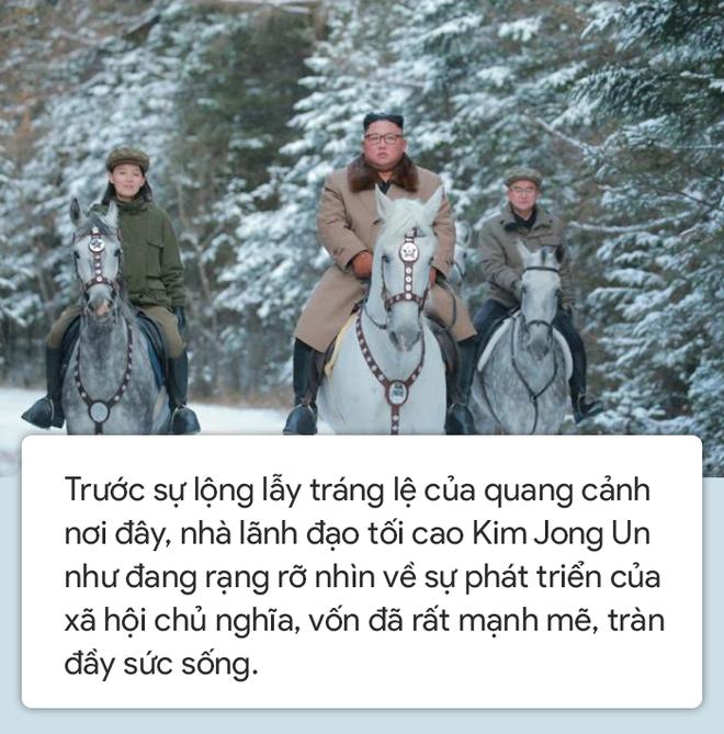 Người Triều Tiên: Khoảnh khắc để lại những dấu chân bất diệt trên Paektu, ngài như trẻ ra 10 tuổi - Ảnh 3.