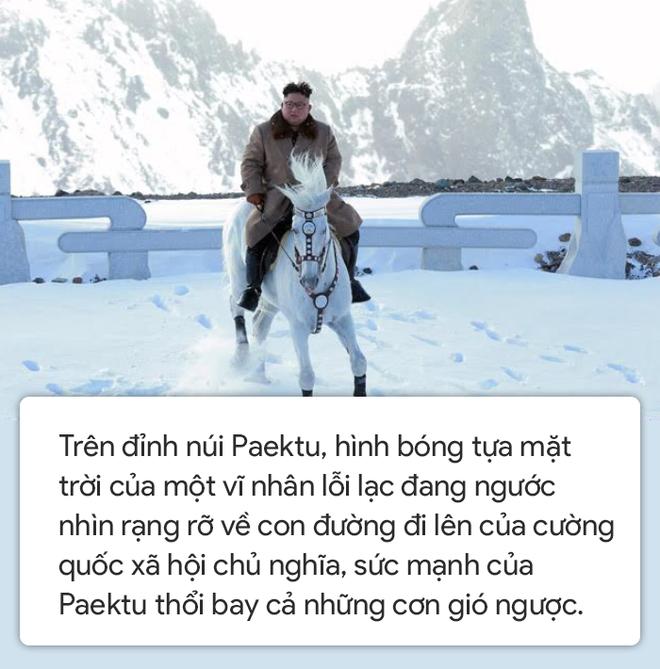 Người Triều Tiên: Khoảnh khắc để lại những dấu chân bất diệt trên Paektu, ngài như trẻ ra 10 tuổi - Ảnh 10.