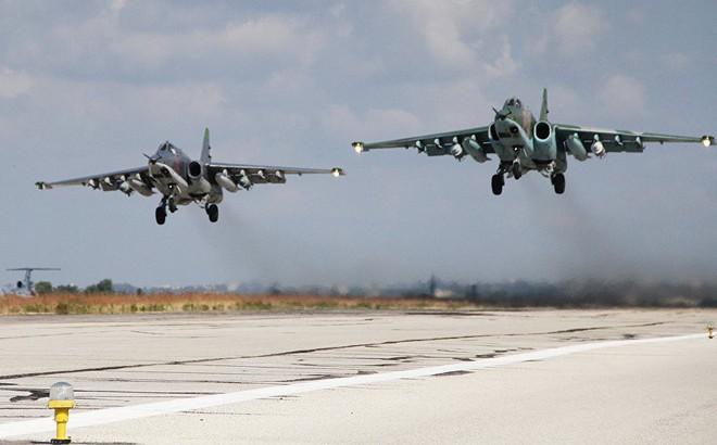 """Dàn chiến đấu cơ Nga gây lo lắng vì """"hành động bất thường"""" trên chiến trường Syria"""