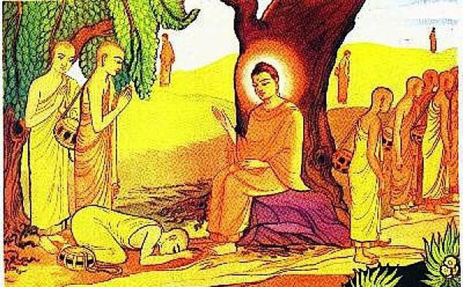 Đức Phật cho môn đồ đến ở nhà của cô gái bán hoa, sau 3 ngày thì chuyện kỳ lạ xảy ra