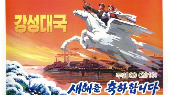 Ngựa thần ông Kim cưỡi trên đỉnh Paektu: Thần tiên mới cưỡi nổi, phi nước đại chân không in dấu - Ảnh 2.