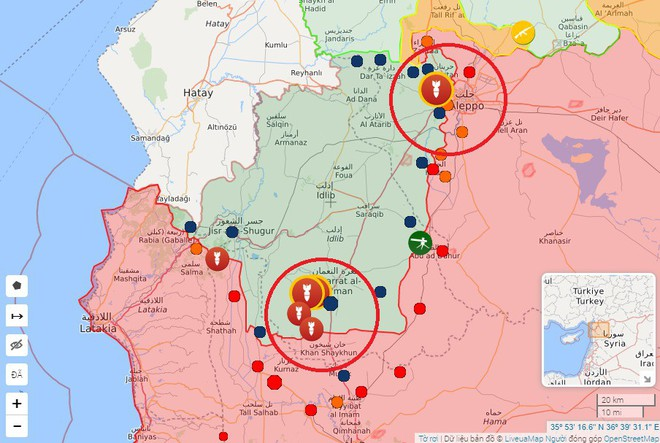 SDF bắn cháy xe tăng Thổ Nhĩ Kỳ, KQ Nga oanh tạc dữ dội khủng bố Syria - Chiến sự vô cùng ác liệt - Ảnh 7.