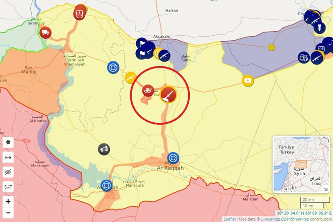 SDF bắn cháy xe tăng Thổ Nhĩ Kỳ, KQ Nga oanh tạc dữ dội khủng bố Syria - Chiến sự vô cùng ác liệt - Ảnh 2.