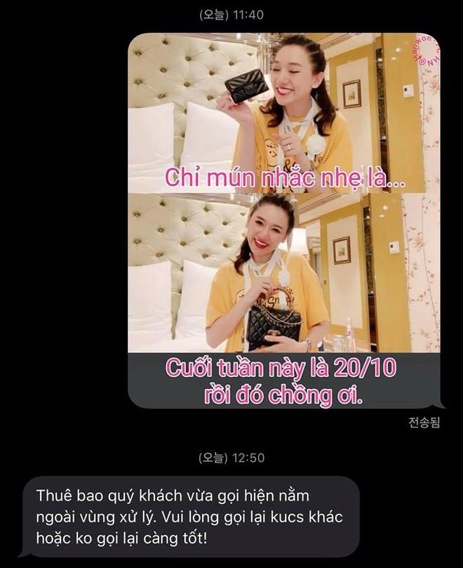 Phản ứng bất ngờ của Trấn Thành khi Hari Won đòi quà 20/10 - ảnh 1