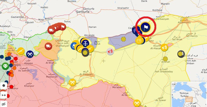 QĐ Syria căng thẳng trên 2 mặt trận - Lính Mỹ tháo chạy, bỏ mặc đặc nhiệm Pháp giữa tử địa - Ảnh 4.