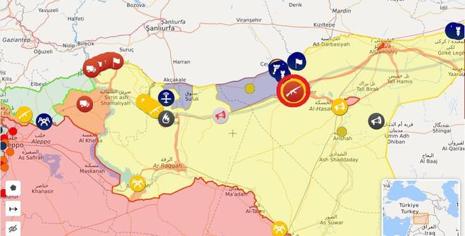 QĐ Syria căng thẳng trên 2 mặt trận - Lính Mỹ tháo chạy, bỏ mặc đặc nhiệm Pháp giữa tử địa - Ảnh 1.