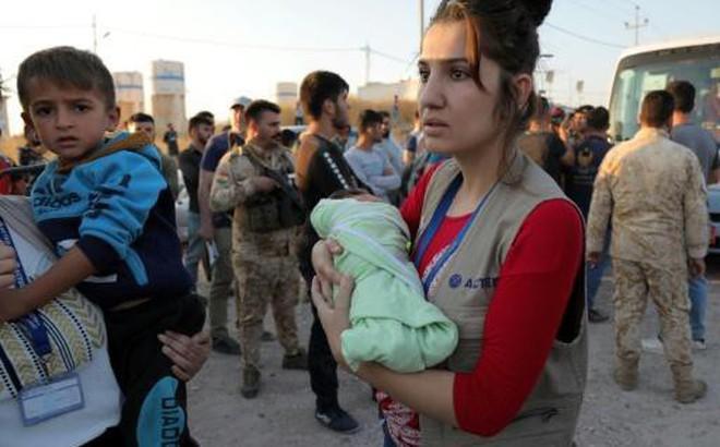 [Video] Cộng đồng người Kurd tại Syria đến Iraq để tị nạn