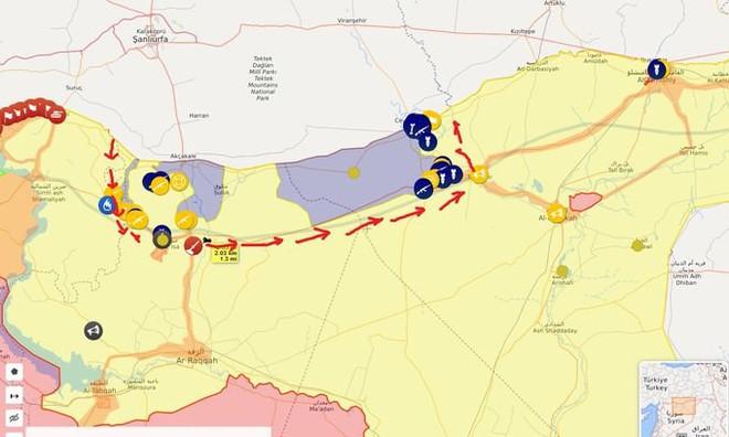 QĐ Syria căng thẳng trên 2 mặt trận - Lính Mỹ tháo chạy, bỏ mặc đặc nhiệm Pháp giữa tử địa - Ảnh 16.