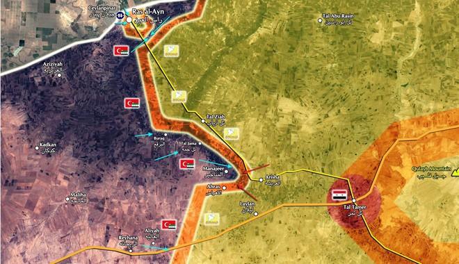 QĐ Syria căng thẳng trên 2 mặt trận - Lính Mỹ tháo chạy, bỏ mặc đặc nhiệm Pháp giữa tử địa - Ảnh 9.
