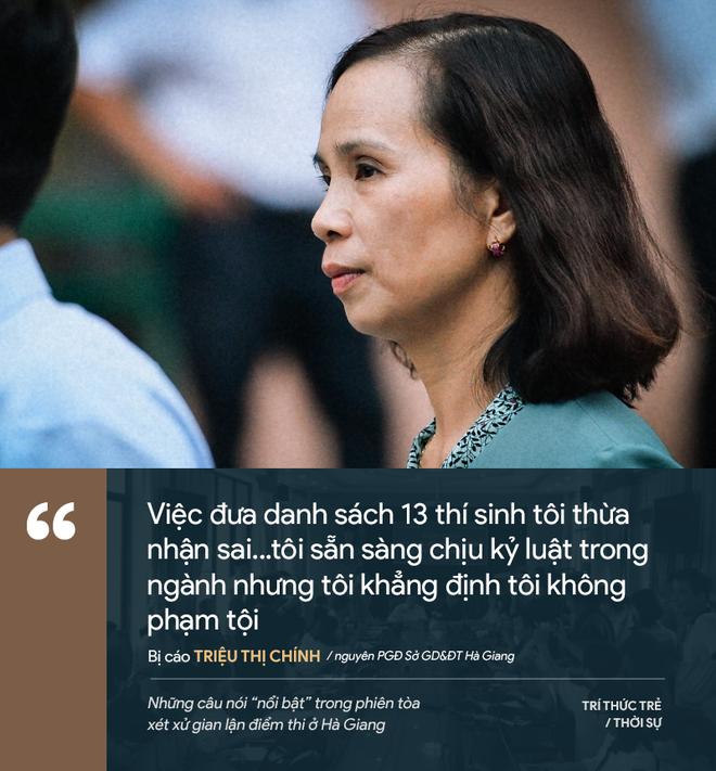 Cựu GĐ Sở Giáo dục Hà Giang nói không ăn nổi cơm và những phát ngôn đáng chú ý trong phiên xử gian lận điểm thi - Ảnh 11.