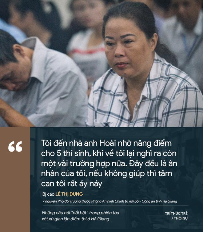 Cựu GĐ Sở Giáo dục Hà Giang nói không ăn nổi cơm và những phát ngôn đáng chú ý trong phiên xử gian lận điểm thi - Ảnh 15.