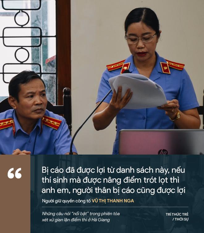 Cựu GĐ Sở Giáo dục Hà Giang nói không ăn nổi cơm và những phát ngôn đáng chú ý trong phiên xử gian lận điểm thi - Ảnh 17.