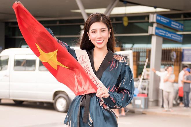 Dương Yến Nhung mang 120kg hành lý dự thi Hoa hậu du lịch thế giới - Ảnh 8.